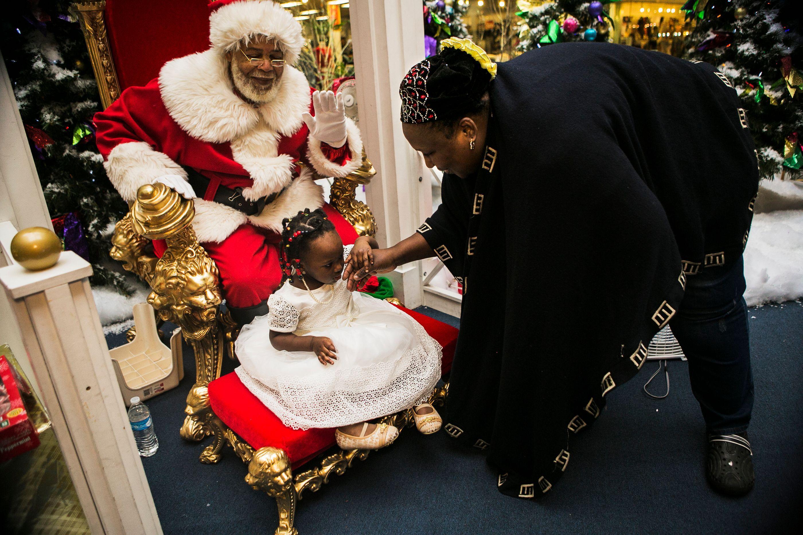 Black Santa Memphis