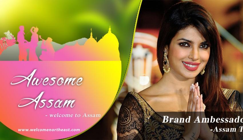 Assam Tourism Brand Ambassador Priyanka Chopra