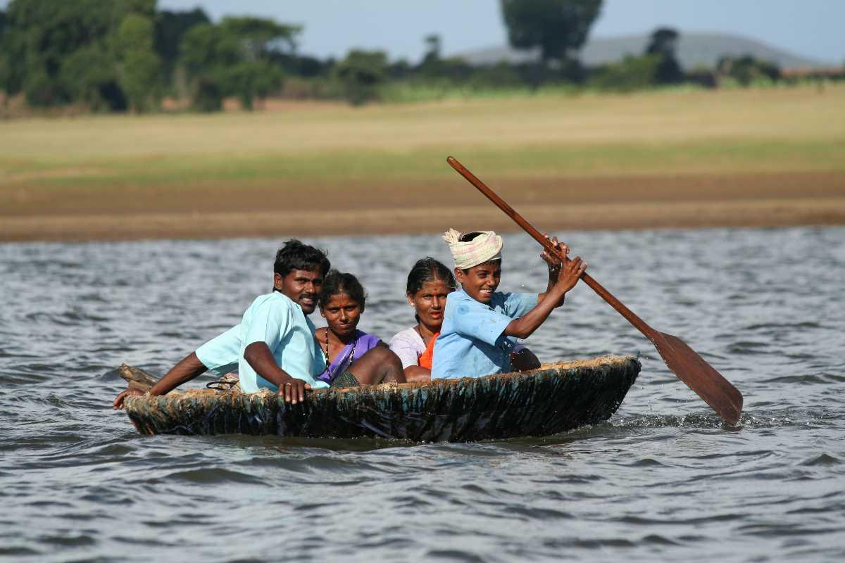 Boating in kabini