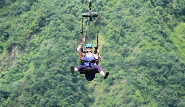 Experience the steepest Zipline in Pokhara, Nepal