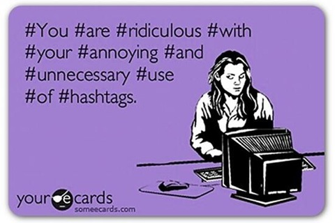 Over Hashtag