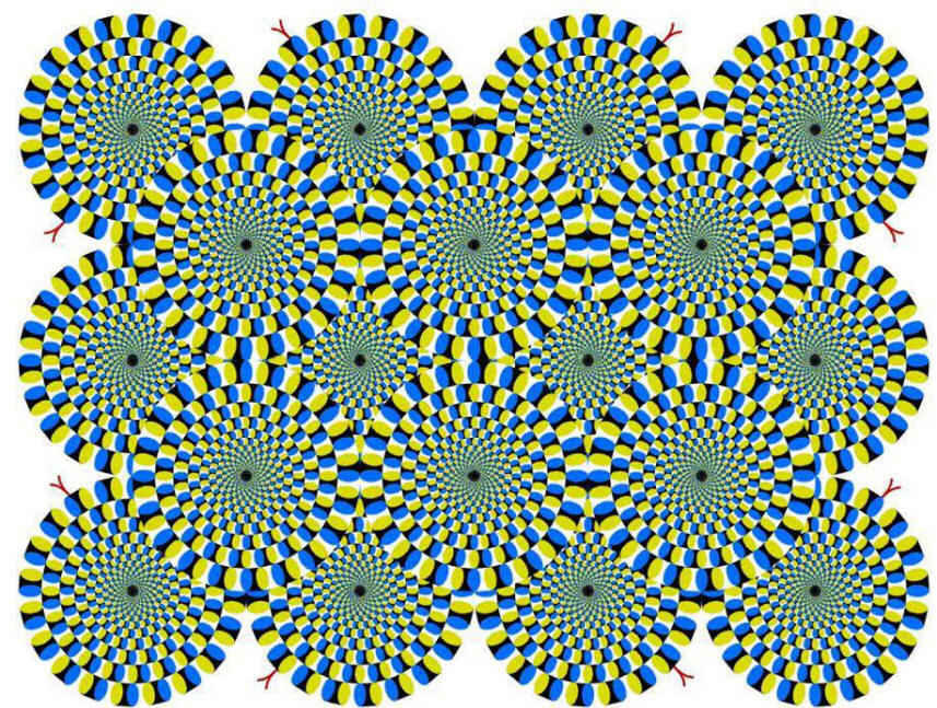 This Age Old Optical Illusion Of Moving Spirals Is Finally ...