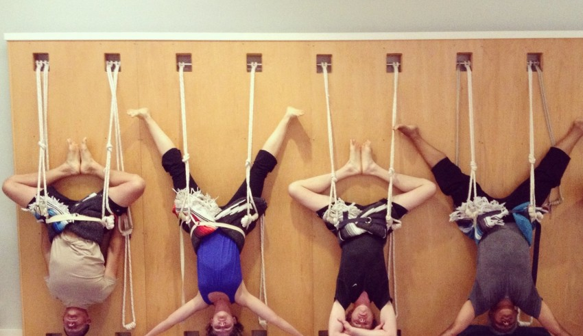 Wall Yoga