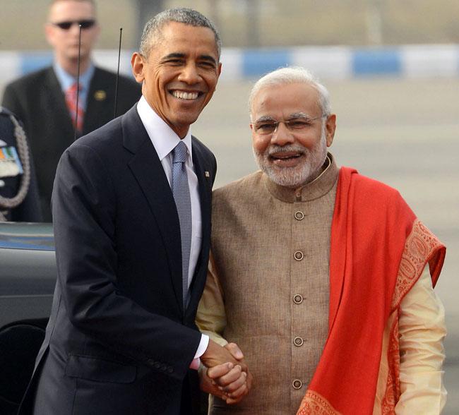 Modi Barack Obama