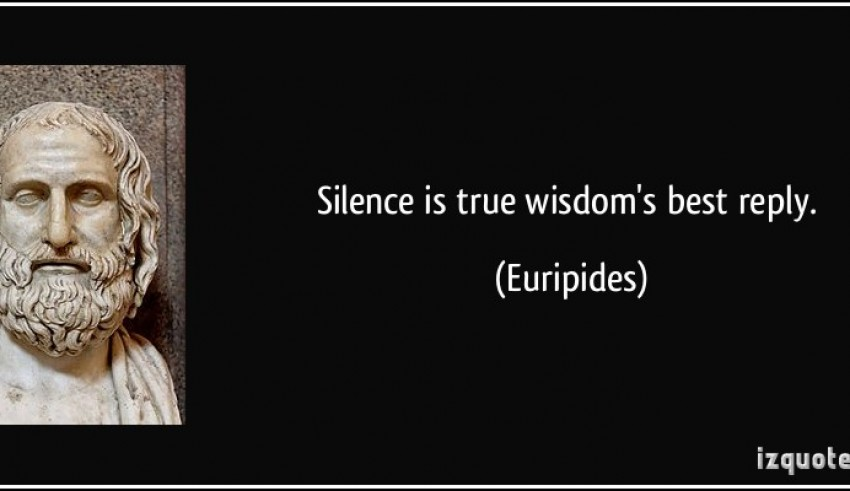 quote-silence-is-true-wisdom-s-best-repl