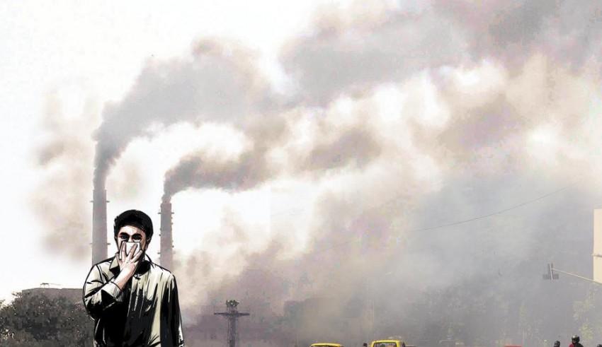 Sonam Kapoor complains about smog