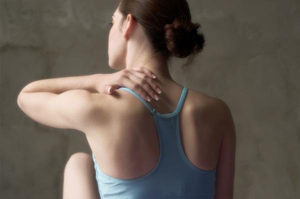 Woman With Yoga Injury