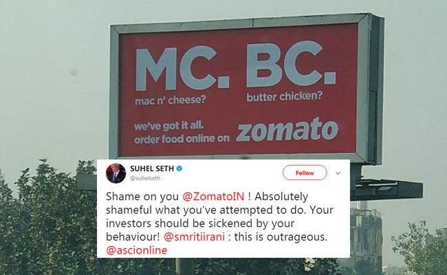 Zomato Ad Campaign
